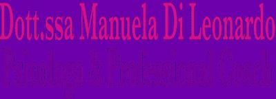 Dott.ssa Manuela Di Leonardo psicologa palermo