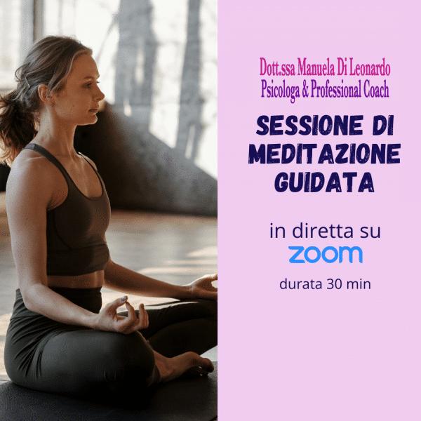 meditazione guidata online